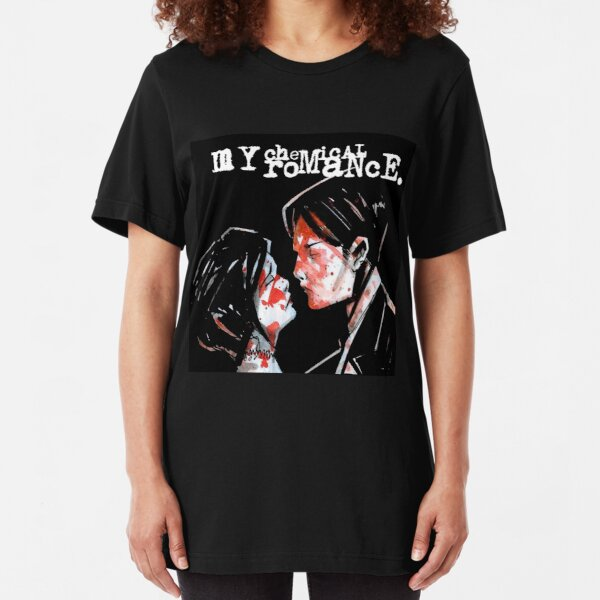 Official Skinny T Shirt My Chemical Romance   Three Cheers Album All Sizes