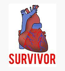 Heart Health Survivor Photographic Print