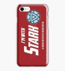 I'm with: Stark iPhone Case/Skin
