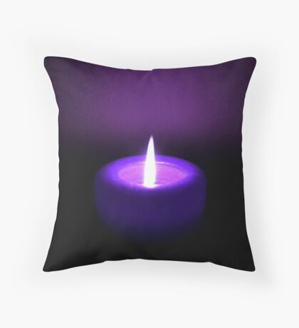 Loves Flame ©  Throw Pillow