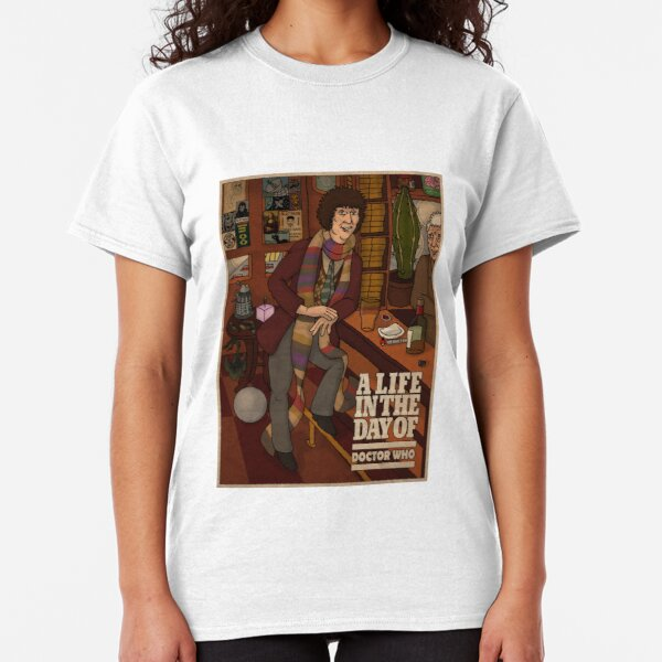 Doctor Who: Tom Baker in the Pub Classic T-Shirt