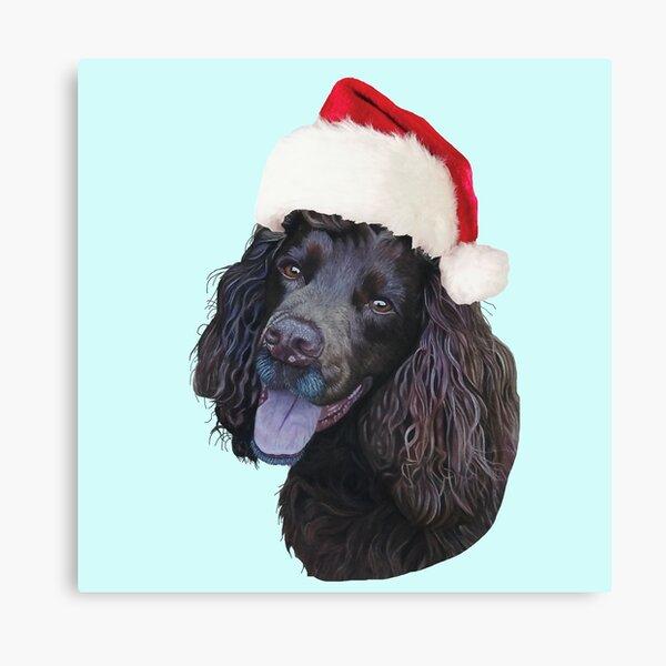 Christmas Cocker Canvas Print