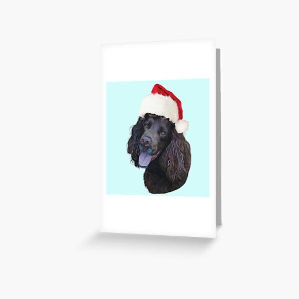 Christmas Cocker Greeting Card