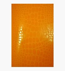 Orange Abstract Background Photographic Print