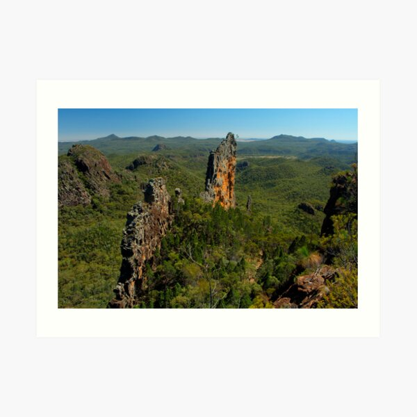 The Breadknife, New South Wales. Art Print