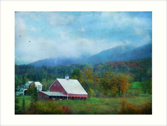 Vermont Farm by John Rivera