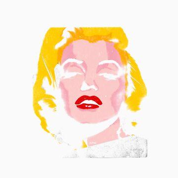 Marilyn Monroe by thesaint1976
