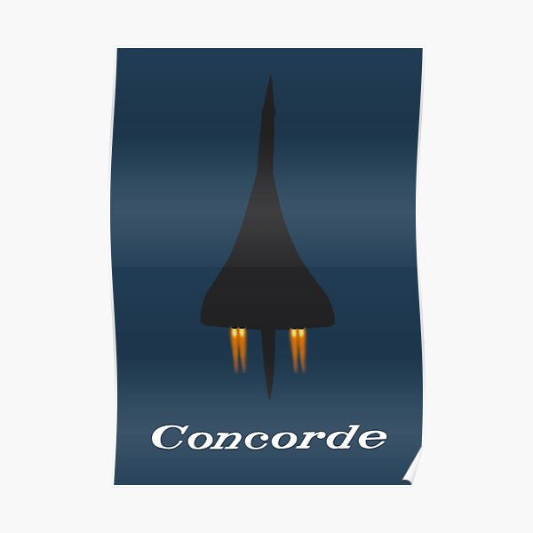 Concorde Afterburners 2 Poster