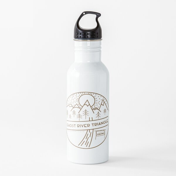 Ghost River Triangle Welcome Water Bottle