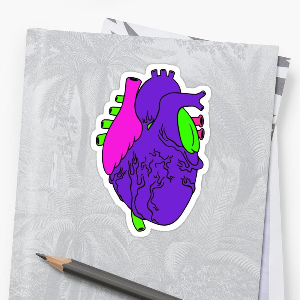 Heart Arty verison colour  by SummerPuppet