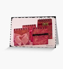 Post It Note Covers/Books Greeting Card