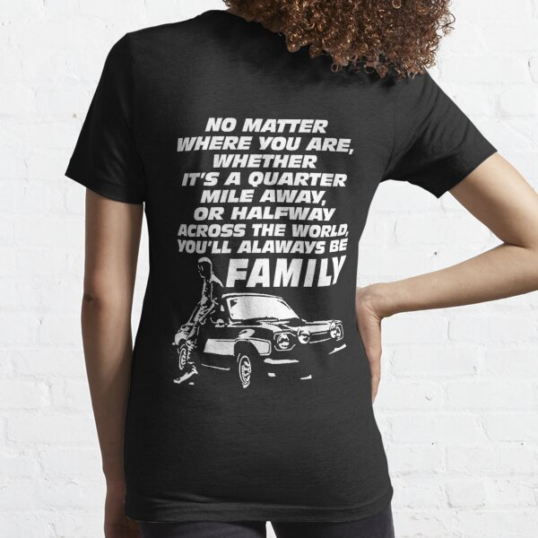 Fast and furious 9 - Paul Walker Forever Essential T-Shirt