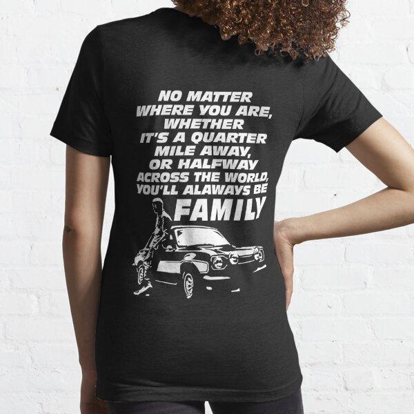 Rápido y furioso 9 - Paul Walker Forever Camiseta esencial