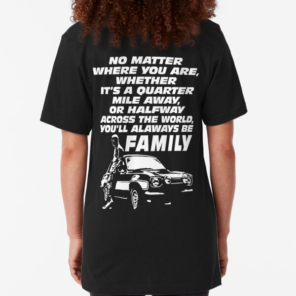 Fast and furious 9 - Paul Walker Forever Slim Fit T-Shirt