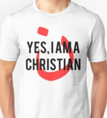 Yes, I am a  Christian Nun Symbol T-Shirt