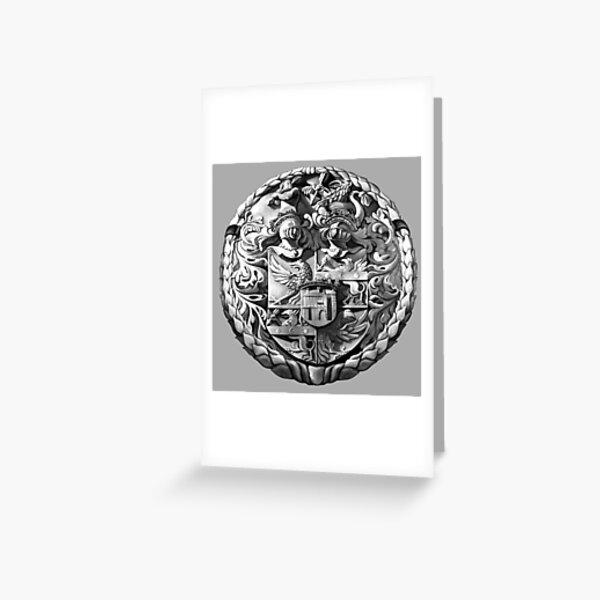 Genetti Coat-of-Arms (Stemma) Greeting Card
