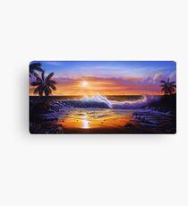 Hawaiian daybreak Canvas Print