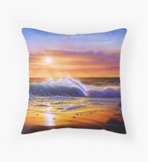 Hawaiian daybreak Throw Pillow