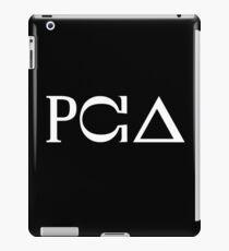 PCA White iPad Case/Skin