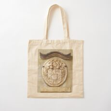 Genetti Family Coat-of-Arms Cotton Tote Bag