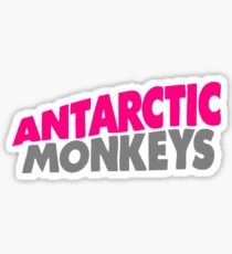 Antarctic Monkeys parody Sticker
