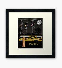 Jazz Blues Party Framed Print