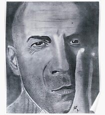 Bruce Willis.........Bald  Eagle Poster