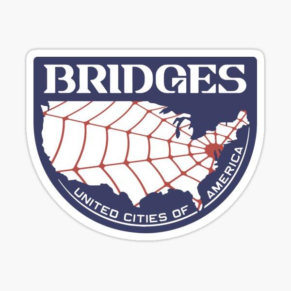 Bridges logo Sticker