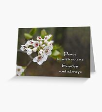 Easter Peace Greeting Card