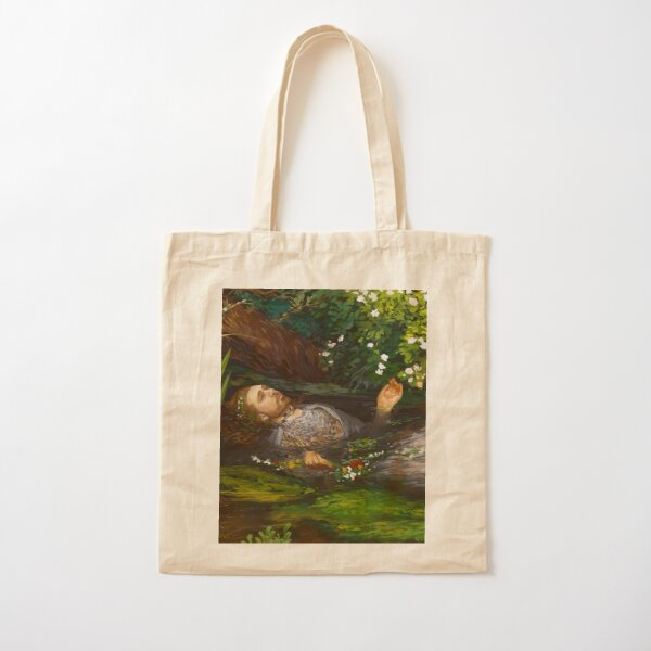 Ophelia but make it hozier Cotton Tote Bag