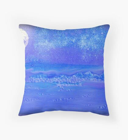 THE NIGHT THE MOON FELL!! PLEASE VIEW LARGER Throw Pillow