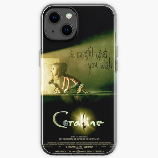 Coraline poster iPhone Soft Case