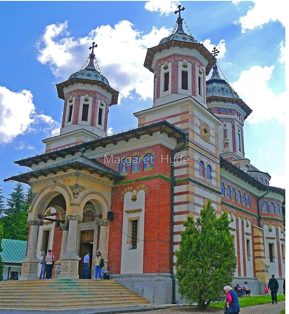 The Great Church of the Monastery, Sinaia, Romania by Margaret  Hyde