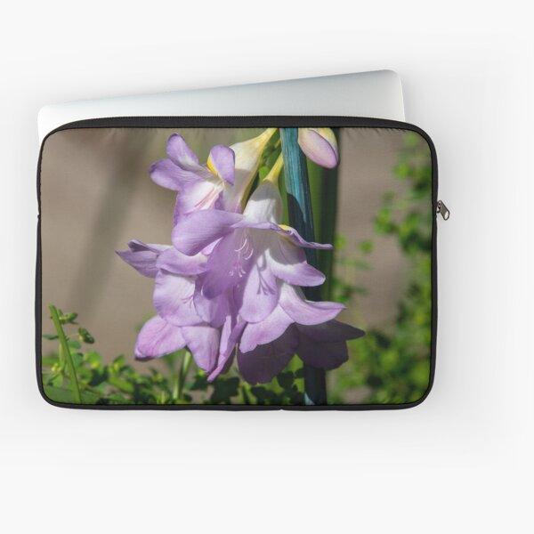 Lavender Freesias Laptop Sleeve