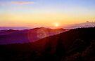 Blue Ridge Sunset by Bill Wetmore