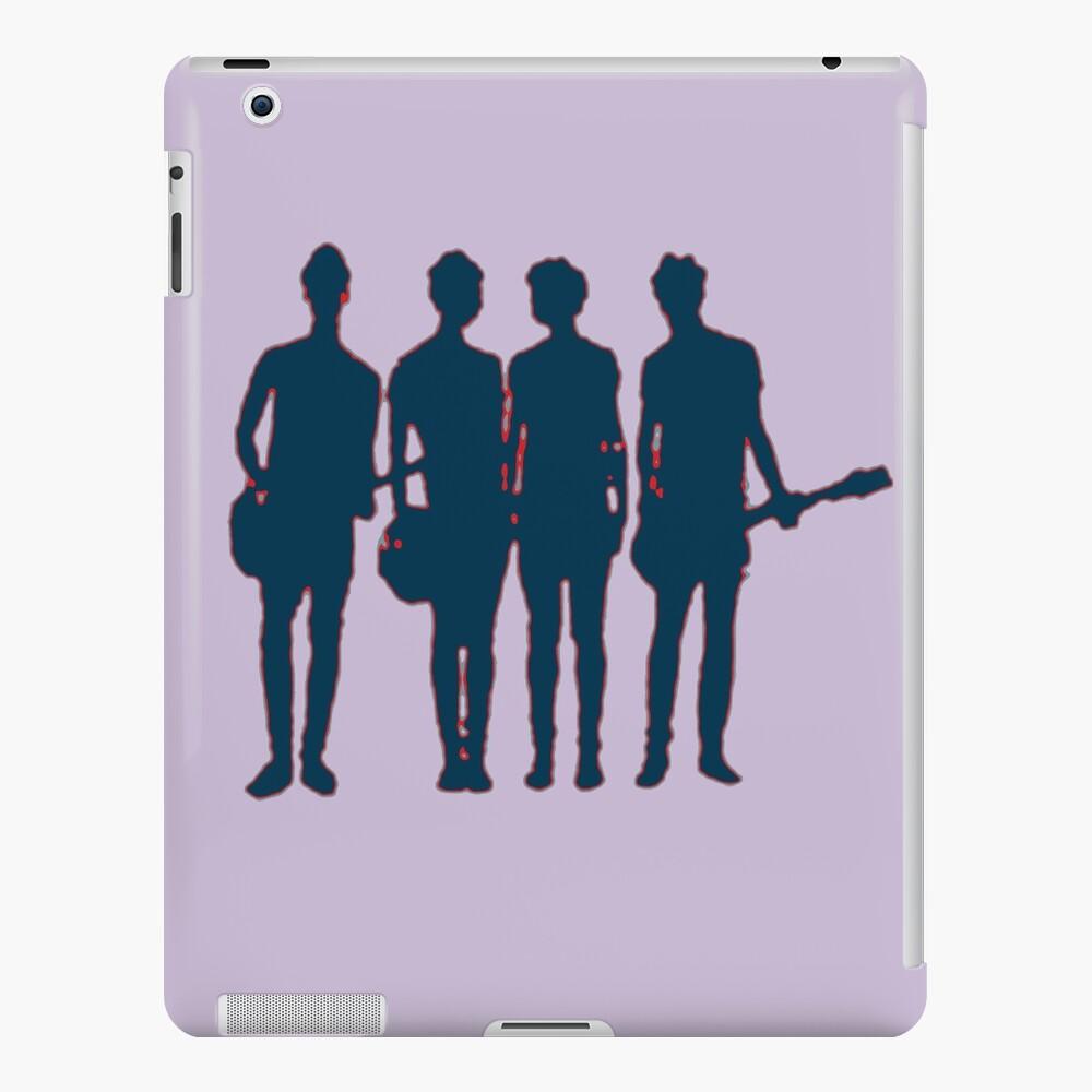 5 Sekunden Sommer Silhouette iPad-Hülle & Skin