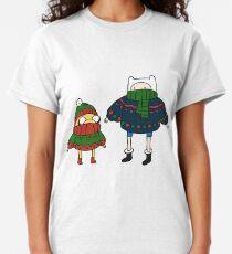 Finn and Jake Christmas Sweaters Classic T-Shirt