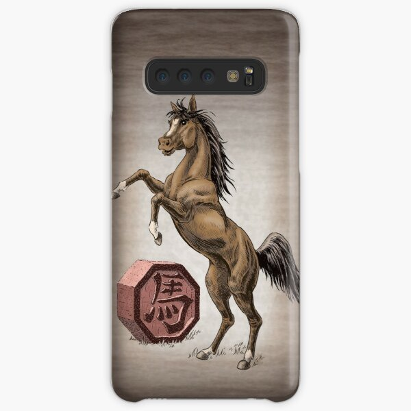 Year of the Horse Card Samsung Galaxy Snap Case