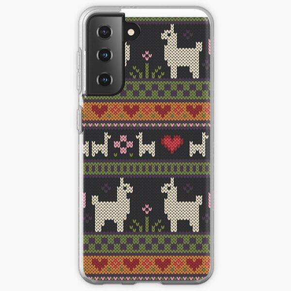Llama Knit Samsung Galaxy Soft Case