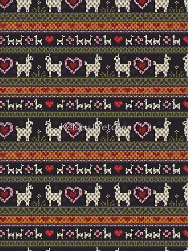Llama Knit by kcretcher