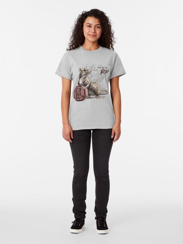 Alternate view of Chinese Zodiac - The Rat Classic T-Shirt