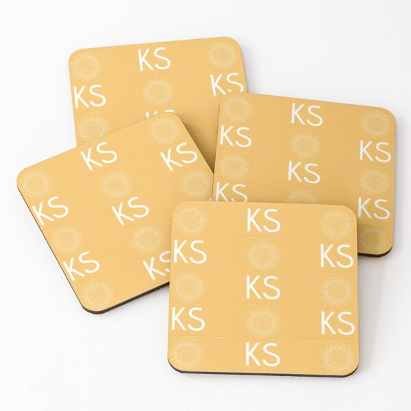 Kansas Sunflower Coasters (Set of 4)