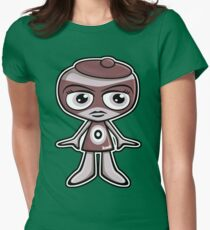 Outlaw Mascot Womens Fitted T-Shirt