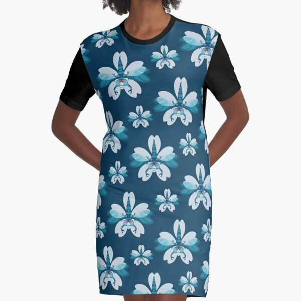 Dragonfly Graphic T-Shirt Dress
