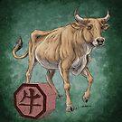 Chinese Zodiac - The Ox by Stephanie Smith