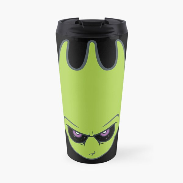 Vintage Green -Super Alien Sporky! Travel Mug