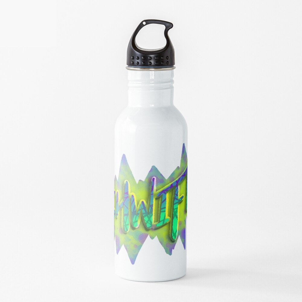 Shwifty — Bubbles Water Bottle