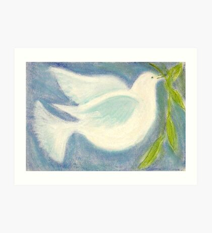 The Dove Returned... Art Print