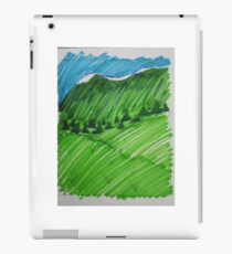 Green as the Hills iPad Case/Skin