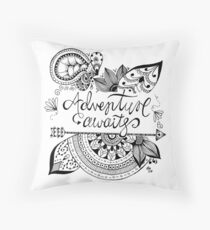 Adventure Awaits Floor Pillow